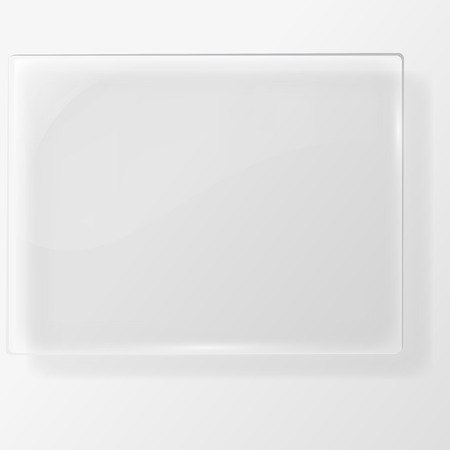 abstract vector plane on white wall Ilustrace