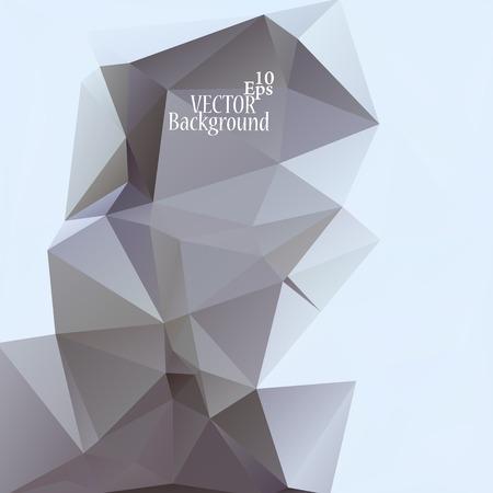 Fondo geométrico abstracto para su uso en el diseño