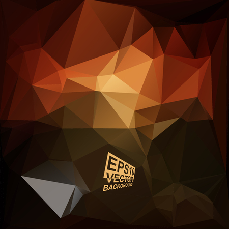 Multicolor ( Brown,Red ) Design Templates. Geometric Triangular Abstract Modern Background. Vector