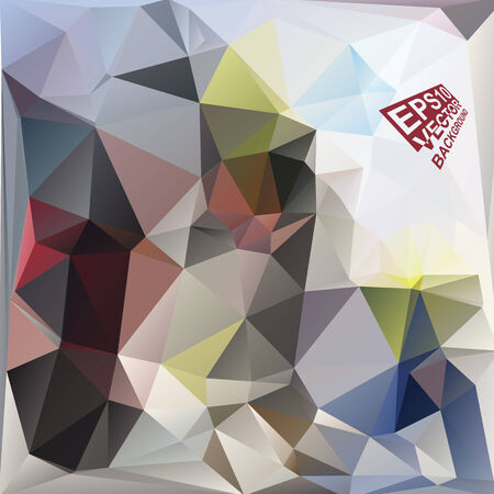 motley: Multicolor ( Red,Blue,Yellow,Green,Motley ) Design Templates. Geometric Triangular Abstract Modern Vector Background.