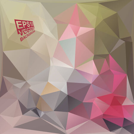 motley: Multicolor ( Green,Gray,Rose,Red,Motley ) Design Templates. Geometric Triangular Abstract Modern Vector Background.