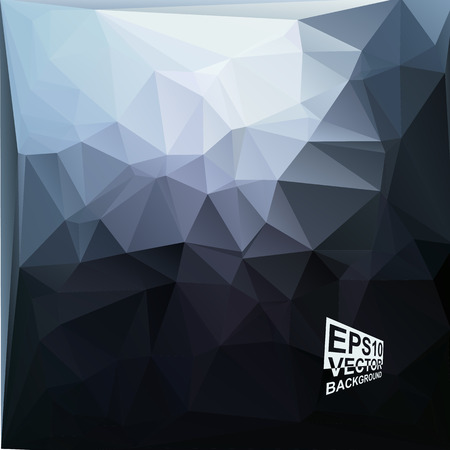 Multicolor ( Blue,Gray,Black ) Design Templates. Geometric Triangular Abstract Modern Vector Background.
