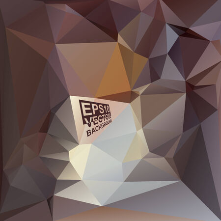Multicolor ( Brown,Blue,Gray ) Design Templates. Geometric Triangular Abstract Modern Vector Background. Vector