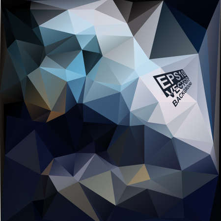 Multicolor ( Blue,Grey ) Design Templates. Geometric Triangular Abstract Modern Vector Background. Vector
