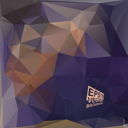 Multicolor ( Purple,Violet,Brown,Blue ) Design Templates. Geometric Triangular Abstract Modern Vector Background. Vector