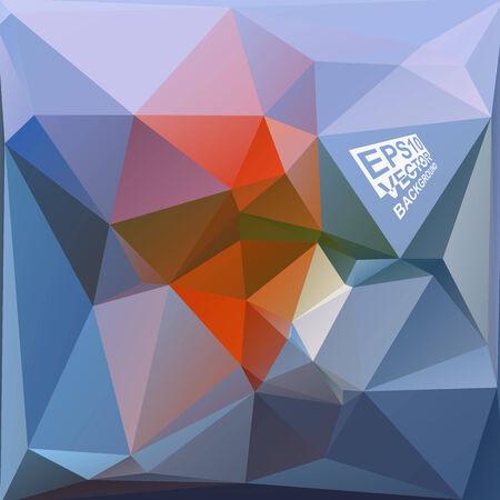 verde y morado: Multicolor (azul, naranja, verde, p�rpura) Plantillas de dise�o. Fondo geom�trico triangular abstracta moderna del vector.