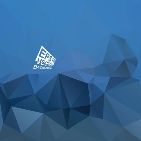 Multicolor ( Blue,Gray ) Design Templates. Geometric Triangular Abstract Modern Vector Background. Vector