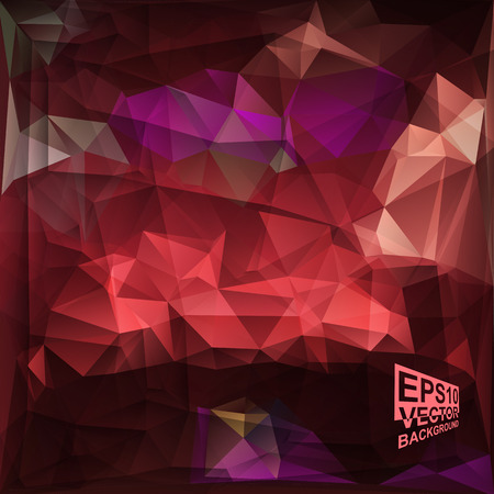 Multicolor ( Red,Purple,Violet ) Design Templates. Geometric Triangular Abstract Modern Vector Background. Vector