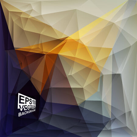 Multicolor ( Yellow,Orange,Violet,Purple ) Design Templates. Geometric Triangular Abstract Modern Vector Background. Vector