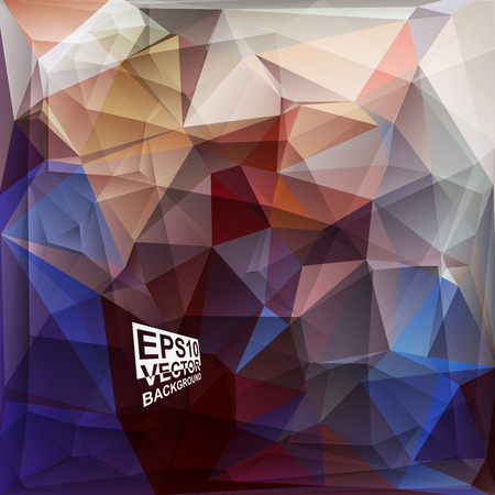 violet red: Multicolor ( Blue,Red,Purple,Violet,Gray ) Design Templates. Geometric Triangular Abstract Modern Vector Background. Illustration