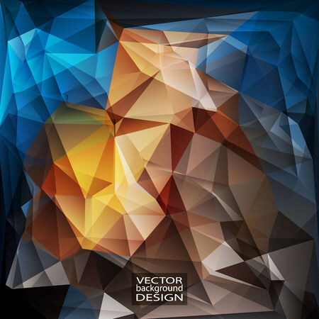 Multicolor Design Templates. Geometric Triangular Abstract Modern Vector Background. Vector