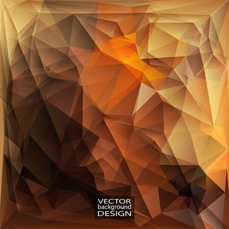 Design multicolore. Geometric Background triangolare moderno astratto Vector.