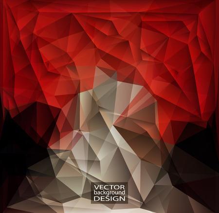 triangular shape: Multicolor Design Templates. Geometric Triangular Abstract Modern Background.