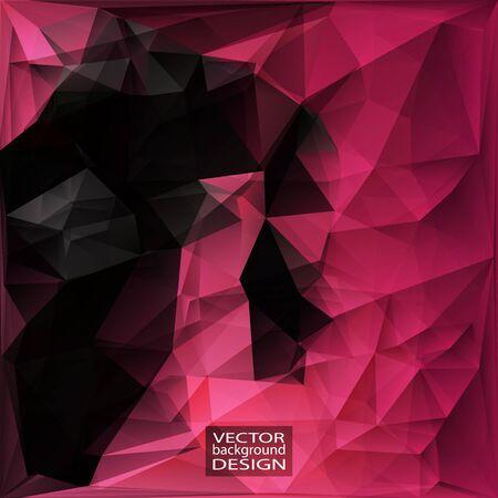 Multicolor Design Templates. Geometric Triangular Abstract Modern Vector Background. Illustration