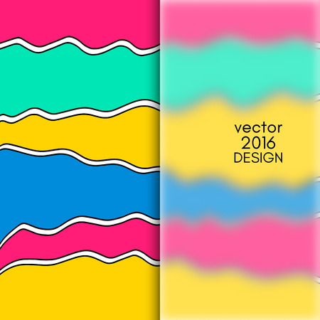 frosted: Multi color Design Templates with Frosted Glass Insert. Geometric Abstract Modern Background. Illustration