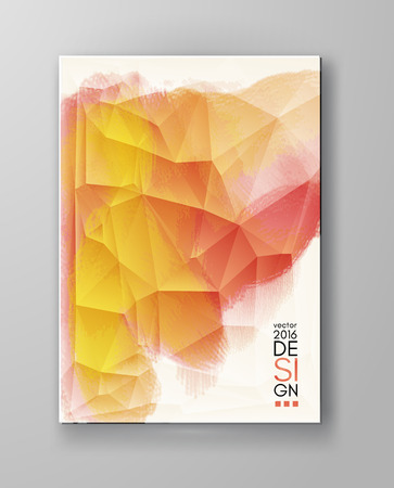 business abstract: Business design templates. Brochure with Multicolored Blurred Backgrounds. Abstract Modern Vector Illustration.