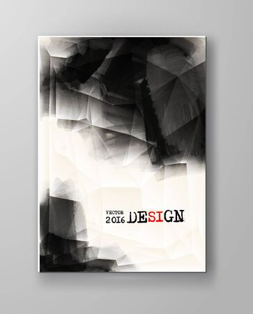decoration design: Abstract Ink Decoration. Splatter Border Design. Ink Splatter Decoration. Abstract Ink Border. Splatter Decoration Design. Vector Illustration.
