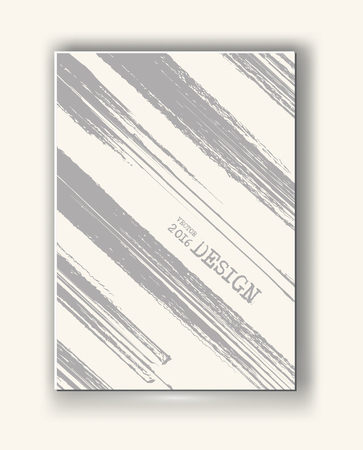 diagonal lines: Business design templates. Abstract grunge pattern line textures. Brochure with Monochrome Strip Backgrounds. Wallpaper with empty space for your text. Vector hand drawn illustration