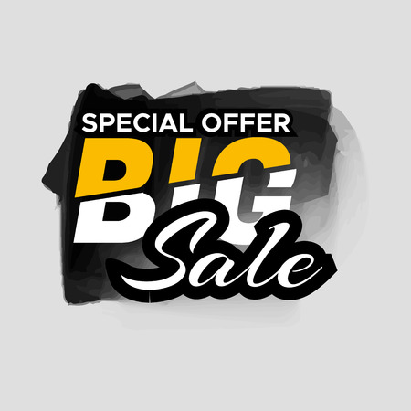 Grunge ink design big sale stickers. Catching signage. illustrations for online shopping, product promotions, website and mobile website badges, ads, print material.