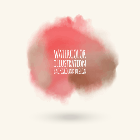 water splash isolated on white background: Vector color brush strokes. Watercolor Grunge isolated elements. Smoke brushes for your design. Freehand. Ink splash. Acrylic stamp. Vector illustration