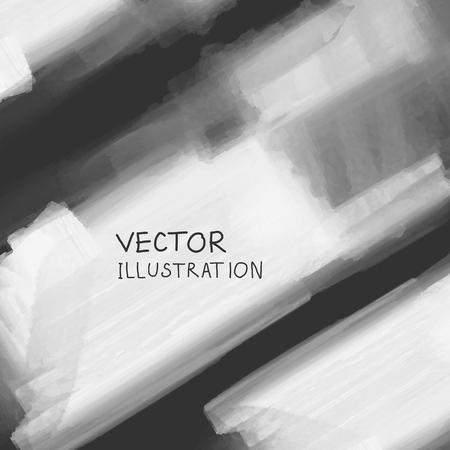 condensation: Smoke cloud background on black backdrop. Vector illustration.