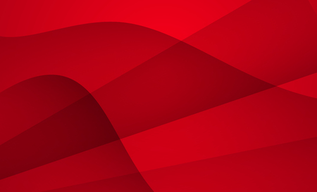Red color geometric background abstract art vector. Abstract graphic element. Illustration