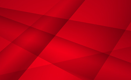 Red color geometric background abstract art vector. Abstract graphic element. Иллюстрация