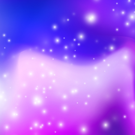 Abstract blurred gradient mesh background in bright violet colors. Purple smooth banner template. Easy editable soft vector illustration.