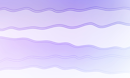 Pastel color vector abstract doodle background. Wave elegant pattern with blur gradient. The pattern can be used for wallpapers and coloring books, banner or poster