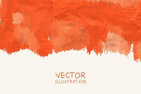 Szablony plakatów farby kolor wektor. Ręcznie rysowane tła akwarela plama. Atrament Abstrakcyjne tło dla karty, broszury, banera, projektowania stron internetowych. Ilustracje wektorowe
