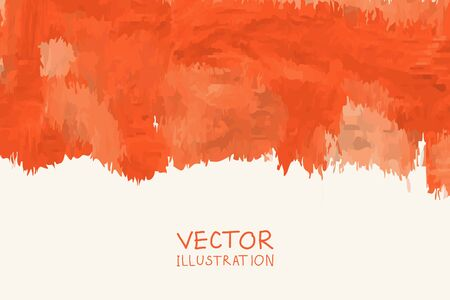 Vector color paint poster templates. Hand drawn Watercolor stain backgrounds. Ink Abstract background for card, brochure, banner, web design. Vetores