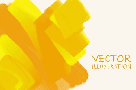 Business design templates. Brochure with Gold Paint Backgrounds. Abstract Modern Decoration. Vector Illustration.