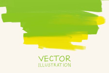 Business design templates. Brochure with Green Backgrounds. Abstract Modern Decoration. Vector Illustration.