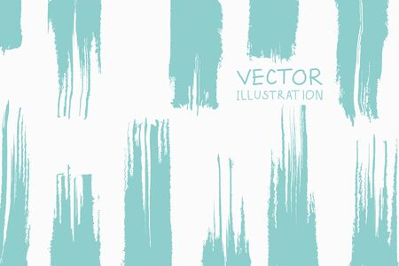 Soft color grunge vertical strip brush strokes with gradient on a light background. Abstract vector illustration.