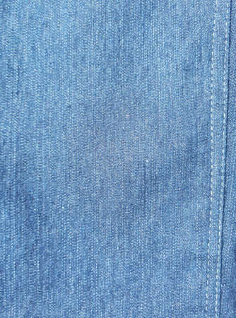 apparel: Close up of denimjeans with seam texture.