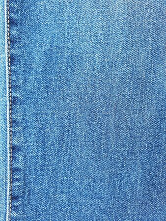 Close up of denimjeans with seam texture.