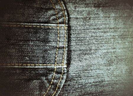 grunge: Grunge pattern of closeup dirty denimjeans with seams background.