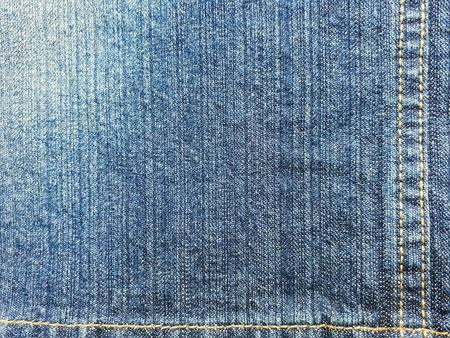 denim jeans: Closeup dirty denimjeans with seams texture.