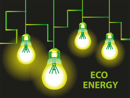 Eco energy background
