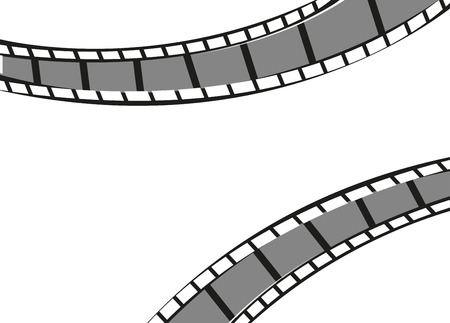 Film strips frame background