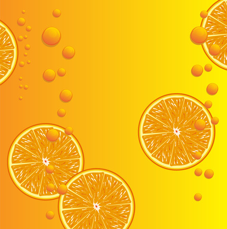 Orange juice background Banco de Imagens - 37445075