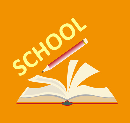 school books background
