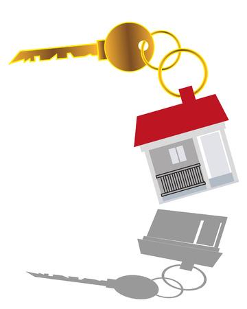 집 판매 키 일러스트