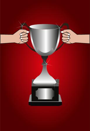 Trophy winner background