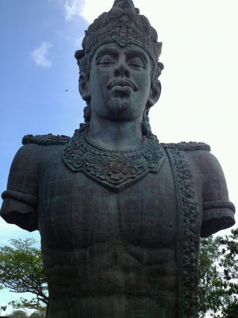Huge statue at bali indonesia