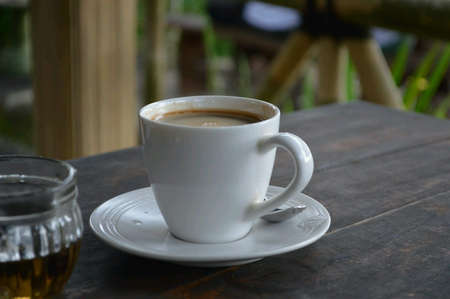 Coffee tea break