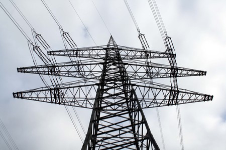 Electricity pylon Imagens - 7547465