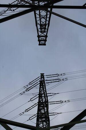 Electricity pylon Imagens - 7547320