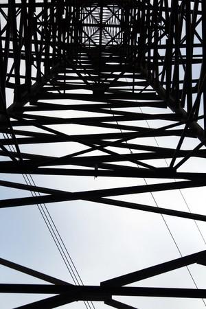 Electricity pylon Imagens - 7547334