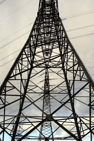 Electricity pylon Imagens - 7547499